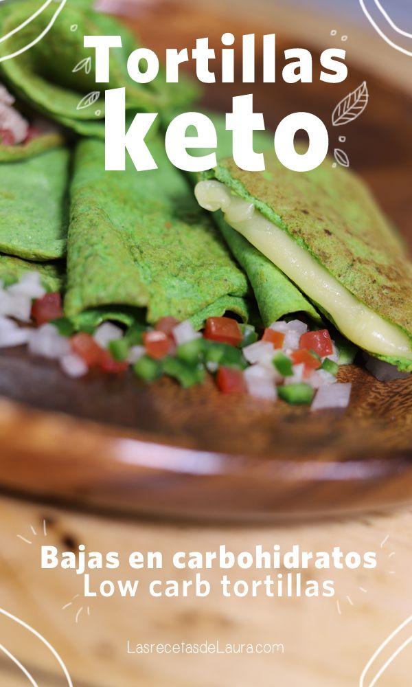 Tortillas Keto - Bajas En Carbohidratos