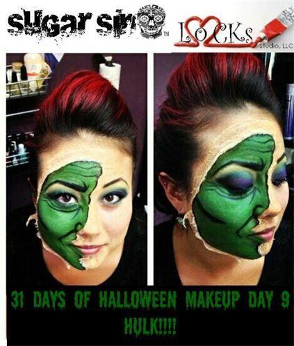 halloween makeup salon
