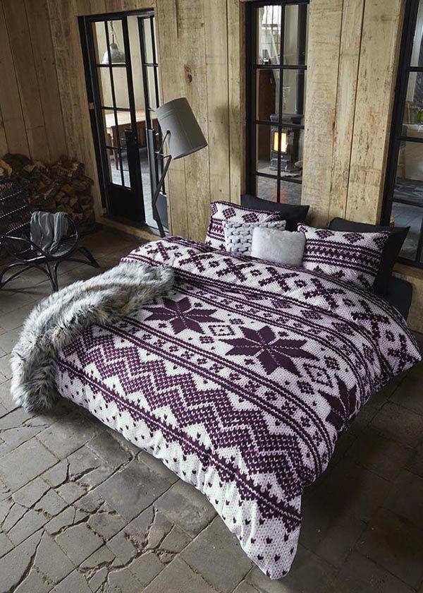 Ontario Dark Red Beddinghouse #duvet #duvetcover #lakens #sheets #bedsheets #bedding #bedroom #bed #dekbedovertrek #dekbedovertrekset #overtrek  > www.marington.nl