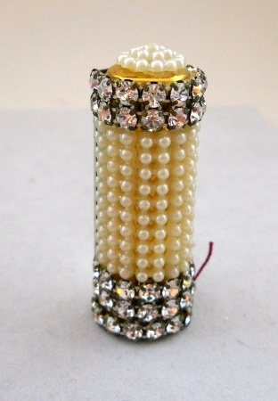 Wiesner Vintage Lipstick Case with Mirrored Back