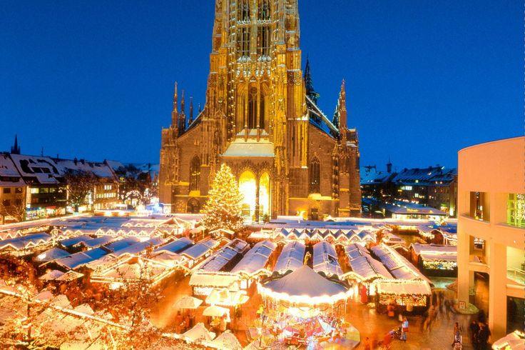 Christmas market, Ulm, Germany