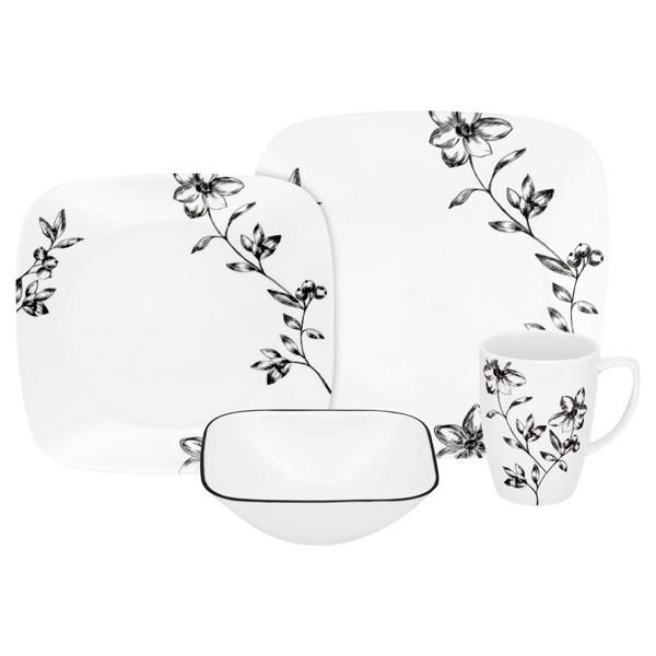 Buy Corelle® Favourite Fleur™ Dinnerware Set From At Bed Bath U0026 Beyond. An  Elegant Ambiance Will Be Present In Your Home Every Night With This  Corelle® ...