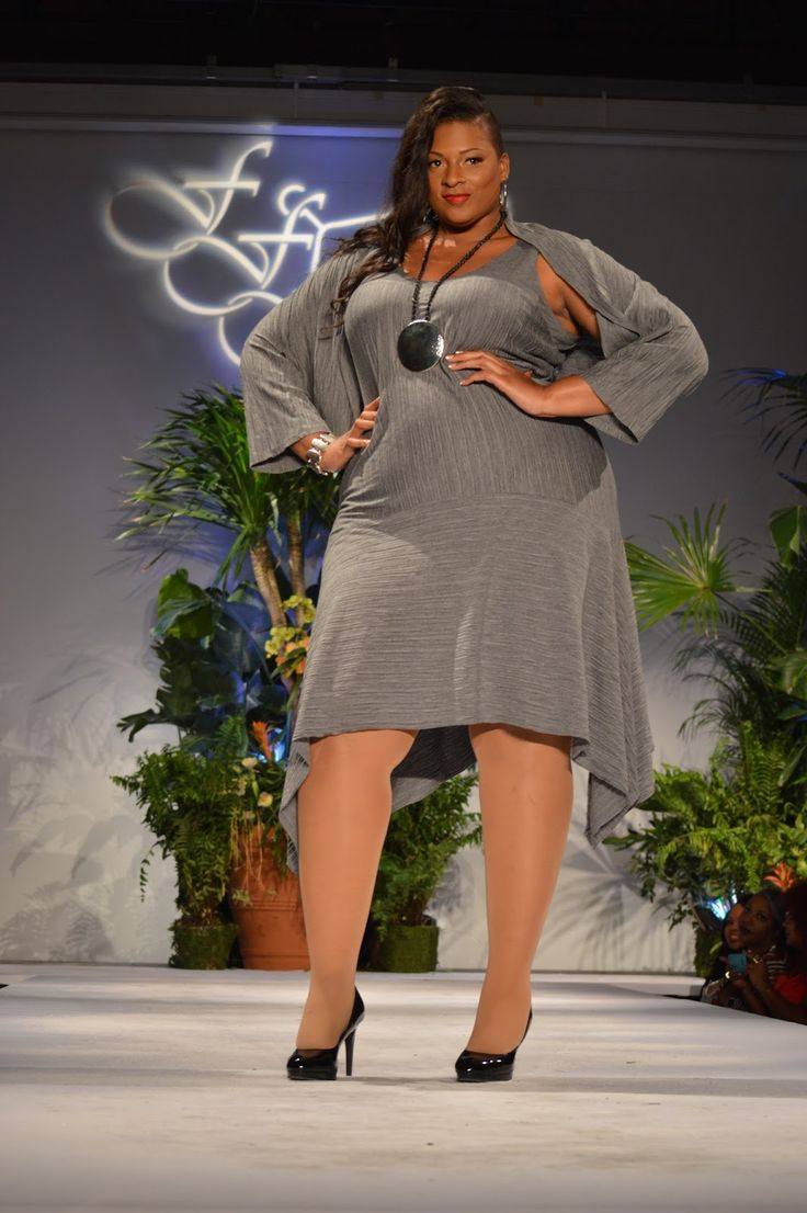 Look From Full Figured Fashion Week 2016