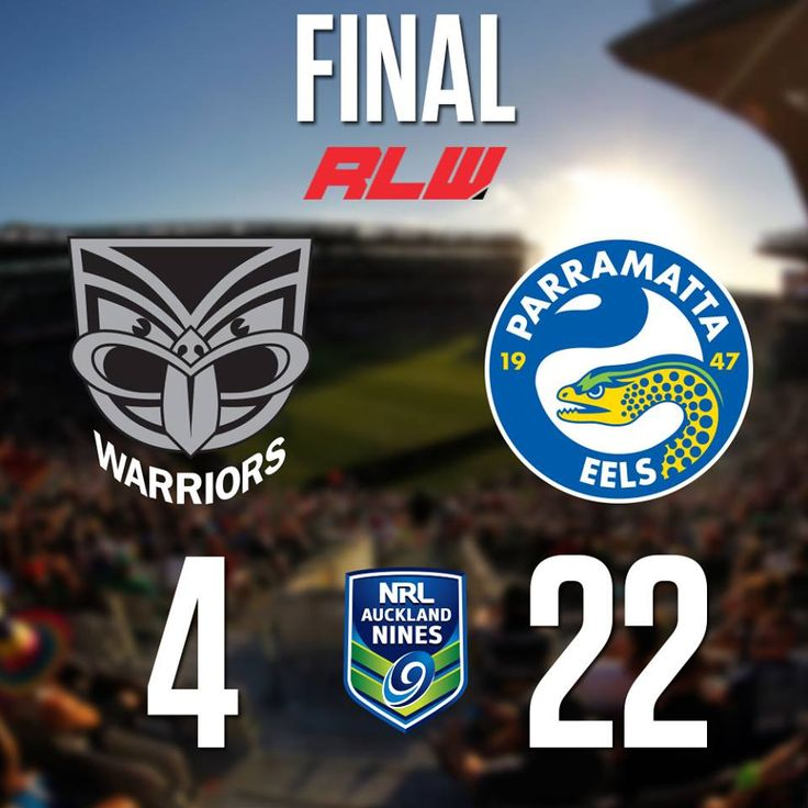 PARRAMATTA EELS ARE THE 2016 AUCKLAND NINES CHAMPIONS!.