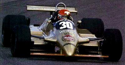Mike Thackwell - 1980 - Dutch GP - Warsteiner Arrows Racing Team - Arrows A3