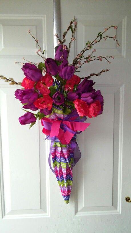 Best 25+ Umbrella wreath ideas on Pinterest | Door wreaths ...