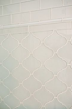 White glass arabesque tile backsplash. https://www.subwaytileoutlet.com/products/White-Arabesque-Glass-Tile.html#.VXyYsc_BzGc https://www.subwaytileoutlet.com/products/White-Glass-Subway-Tile.html#.VXyZuc_BzGc