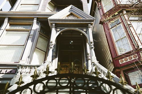 Grateful Dead house in the Haight, San Fran