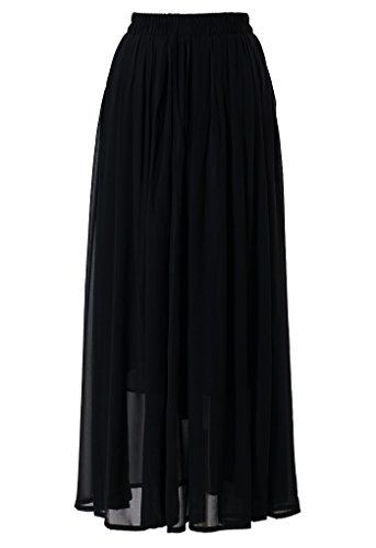LACHERE Women's Maxi Skirt | Chiffon | Ankle- Length | El... https://www.amazon.co.uk/dp/B075TBCYL6/ref=cm_sw_r_pi_dp_x_4PnYzbABG2FE5