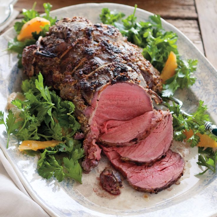 If your meat is not a thick center cut, the cooking time will be less. Letting the roast rest allows the juices to distribute.