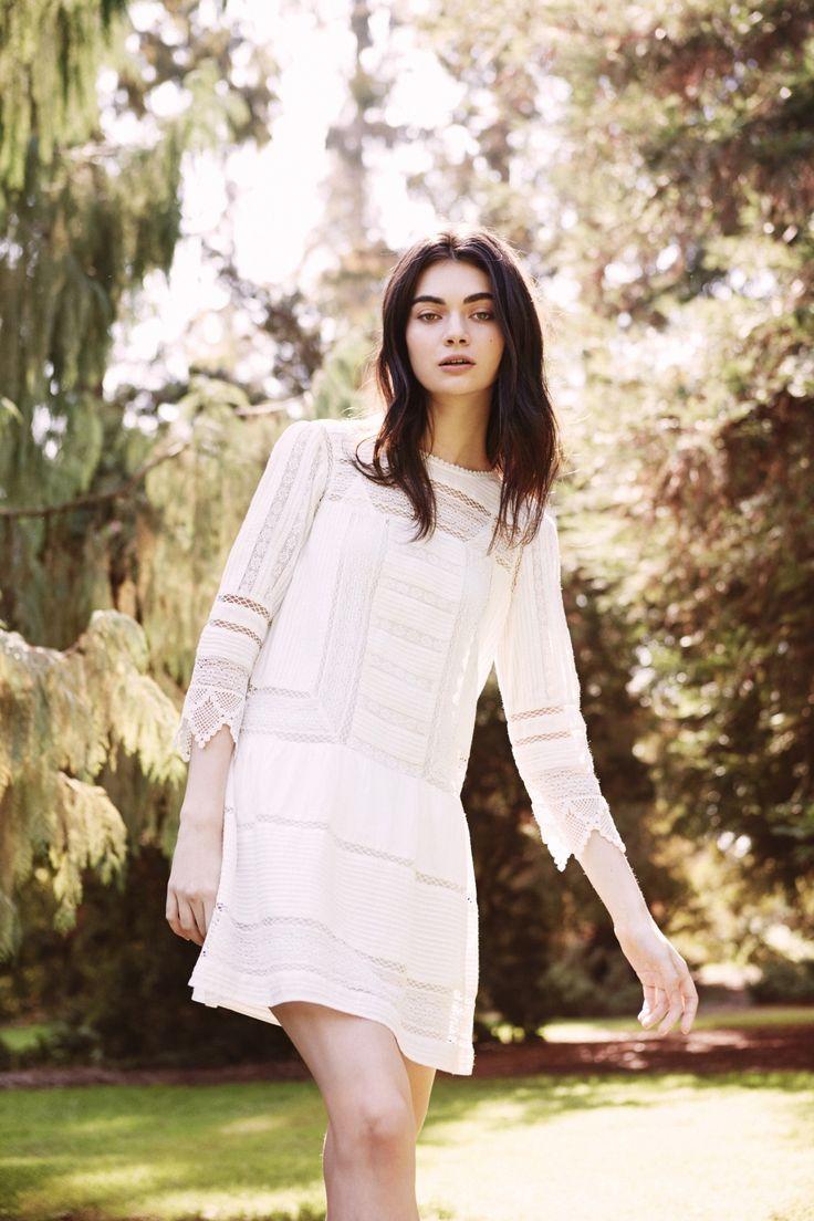 The Amberly Lace Dress