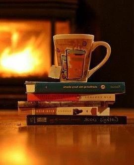 Chá + uma Boa Leitura..Hummm.. Delícia!