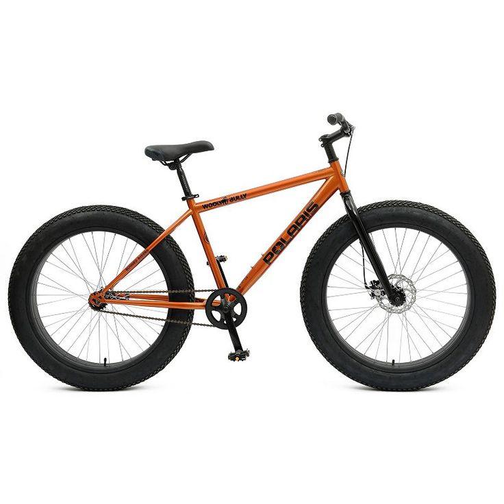 Polaris Wooly Bully 26-in. Fat Tire Bike - Adult, Orange