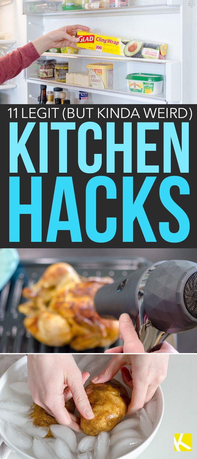 11 Legit (but Kinda Weird) Kitchen Hacks | Useful Tips and Life ...