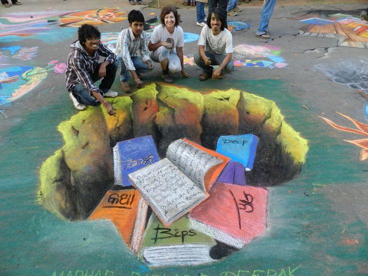 bhuban 13~3D Street Art India