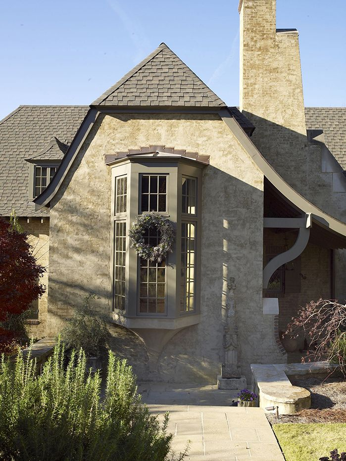 Stucco Cottage By Mcalpine Tankersley Stucco Homes