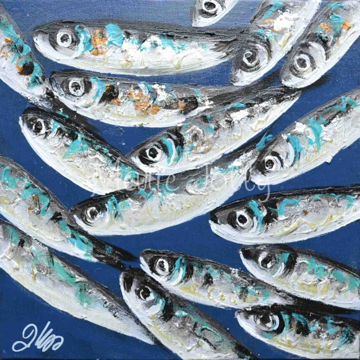 Peinture Sardines chapitre 1