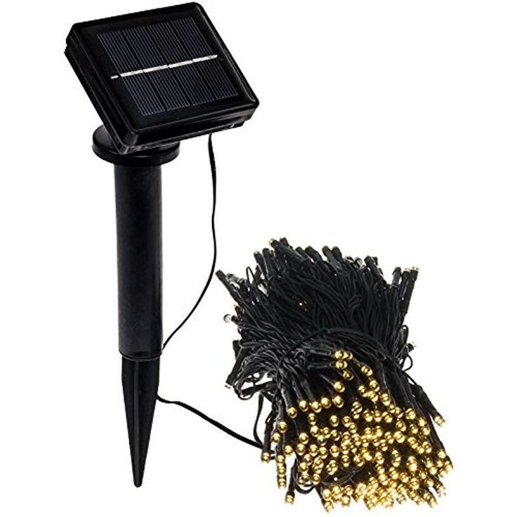 """MareLight 100 LED Solar LED String Lights, Christmas Ambiance Lighting For Outdoor, Patio Lawn Landscape, Fairy Garden, Home, Wedding, Holiday, Christmas Party, Xmas Tree,Waterproof (1 Pack)"""