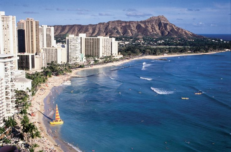 oahu -- waikiki beach. i have promised myself i will find the time to go in the next year or so, even if i have to go by myself.