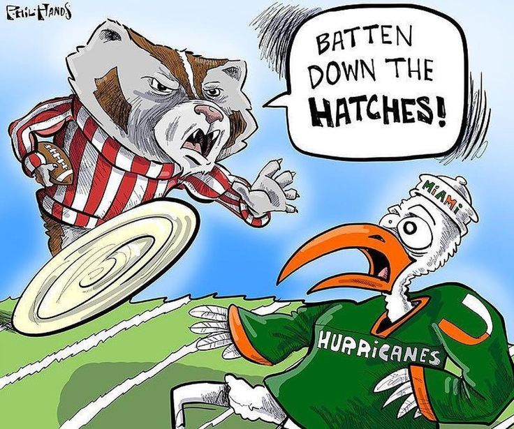 No. 6 Wisconsin faces No. 11 Miami at 7 p.m. at Hard Rock Stadium in Miami Gardens, FL in the Orange Bowl