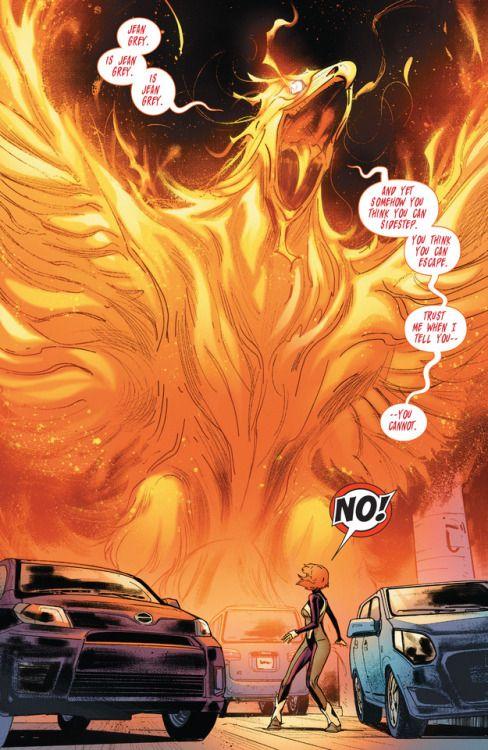 The Phoenix in Jean Grey #1