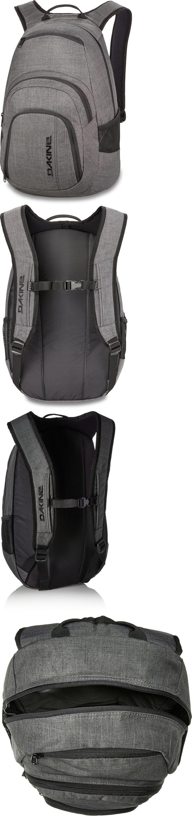 Other Skateboarding Clothing 159079: Dakine Campus Backpack, Carbon, 25L Genuine Dakine ® -> BUY IT NOW ONLY: $64.95 on eBay!