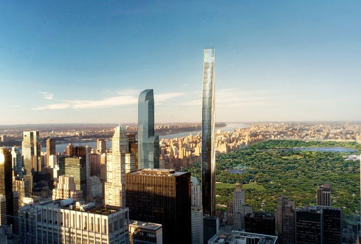 At 1,421 feet, the skinny skyscraper at 111 W. 57th Street will become the the Western Hemisphere's tallest residential building upon its 2018 completion.