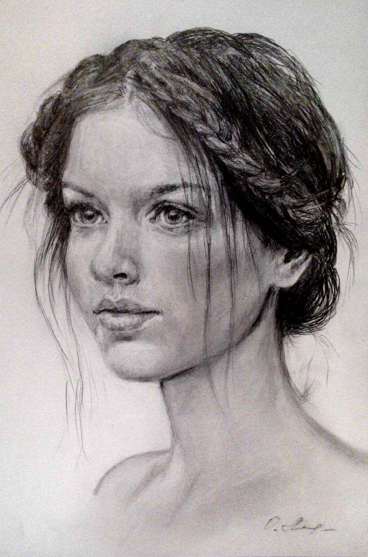 карандашные портреты картинки каталог