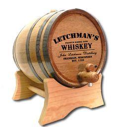 Northwest Gifts - Whiskey Distillery Barrel Personalized (http://northwestgifts.com/whiskey-distillery-barrel-personalized/)