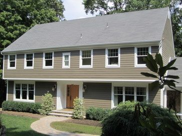 Garrison Colonial Design Ideas Pictures Remodel And Decor House Exterior Pinterest