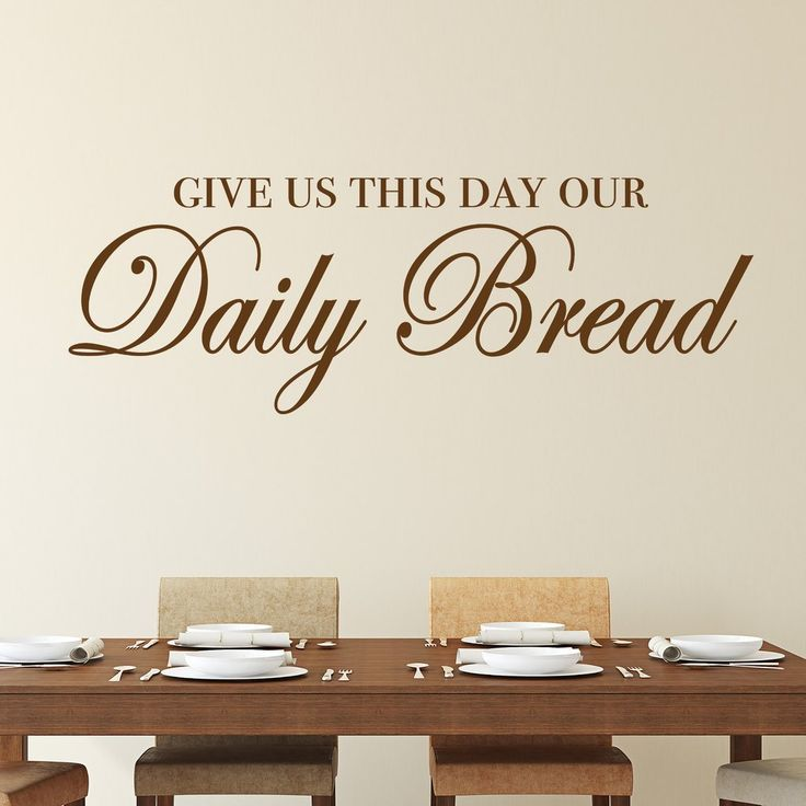 130 best wall quotes images on pinterest wall quotes for Best dining room quotes
