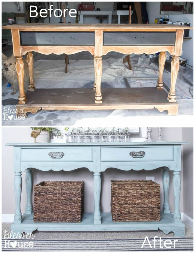 25 best ideas about furniture makeover on pinterest for Sofa table makeover