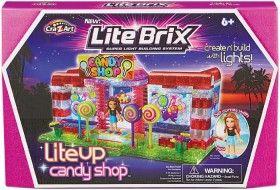 NEW Lite Brix Lite Up Candy Shop