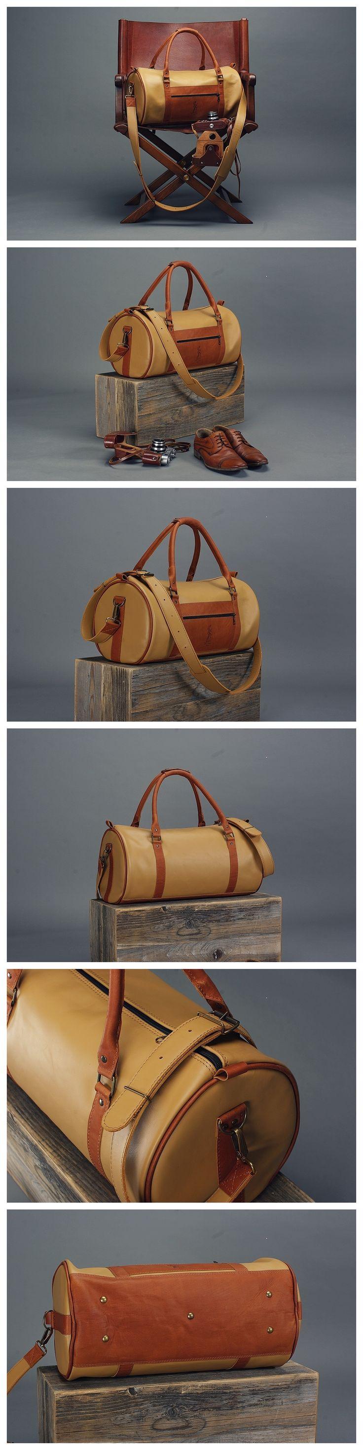Leather Bag, Vintage Leather Bag, Leather Travel Bag, Leather Duffle Bag, Leather Cabin Bag, Weekend Bag, Overnight Bag, Real Leather, Leather Sports Bag, Travel Bag, Handmade Bag, Messenger Bag