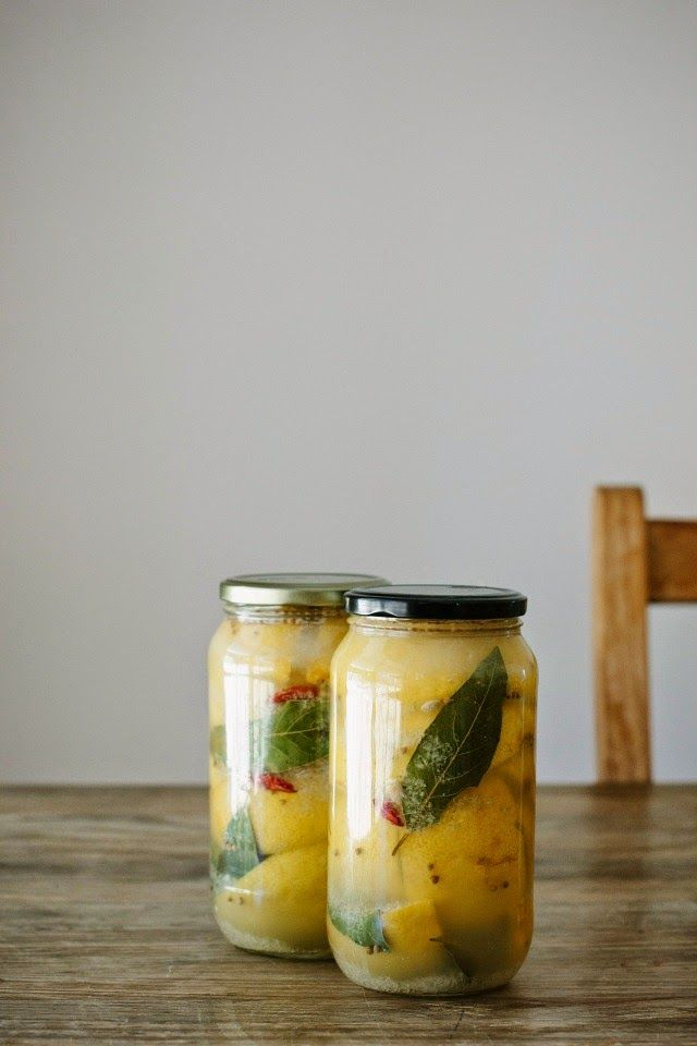 my darling lemon thyme | preserved lemons recipe