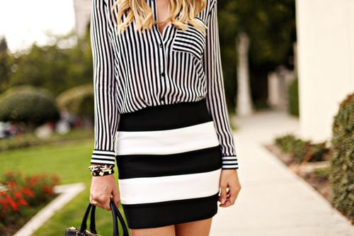 stripes! | Outfits/accessories | Pinterest