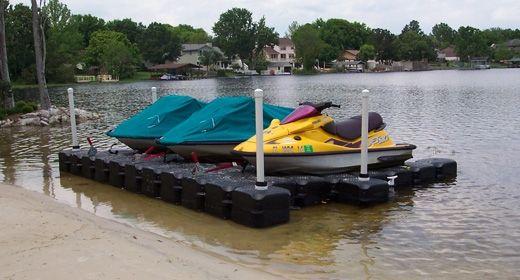 Jet Ski Floating Dock | Double Jet Ski Lift by Jet Dock Systems
