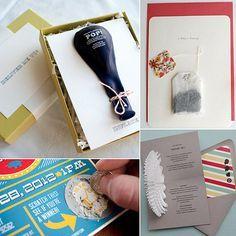 * UNIQUE BABY SHOWER INVITATIONS Invitation Inspiration! 17 Creative Baby Shower Invites