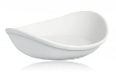 Tegamino Wave - Ceramica finissimo gres naturale con un design innovativo e moderno, ispirato alla semplicità e alla bellezza della natura stessa! Disponibile in 3 sensazionali e moderni colori: grigio pietra, bianco ghiaccio e rosso fuoco