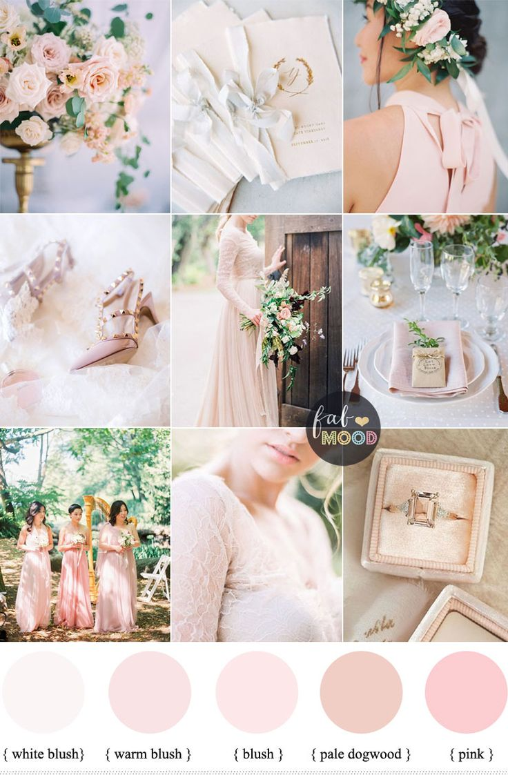 Best 25 blush pink weddings ideas on pinterest blush for Wedding color scheme ideas