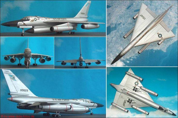 "Convair B-58 ""Hustler"" (Lindberg 578) 1:72"