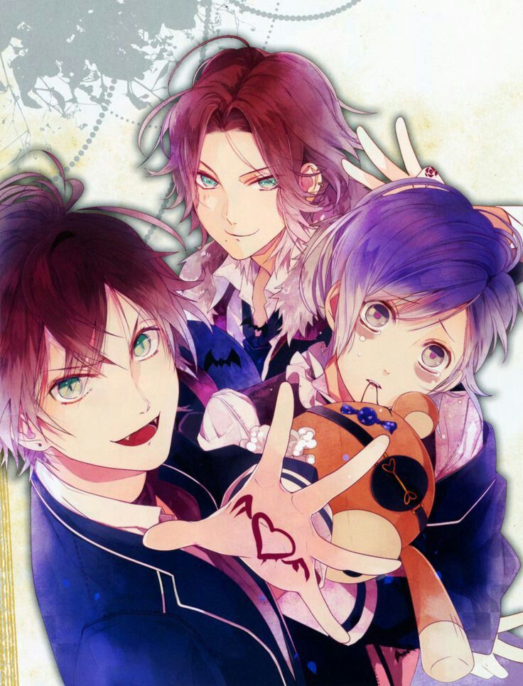 Pin de Violet em Reverse Harem Anime Amantes diabolik