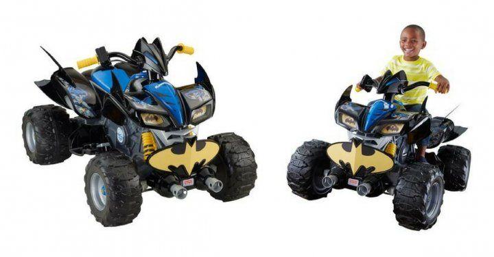 Fisher-Price Power Wheels Batman ATV $298 http://www.lavahotdeals.com/ca/cheap/fisher-price-power-wheels-batman-atv-298/216496?utm_source=pinterest&utm_medium=rss&utm_campaign=at_lavahotdeals