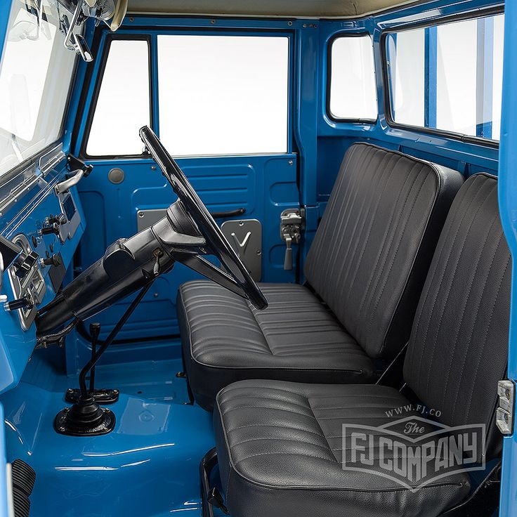 Now available: 1974 Toyota Land Cruiser FJ45 Sky Blue, see related pics…