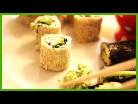 ♥ Sushi aus Hirse ♥ gesund, lecker und leicht zu machen