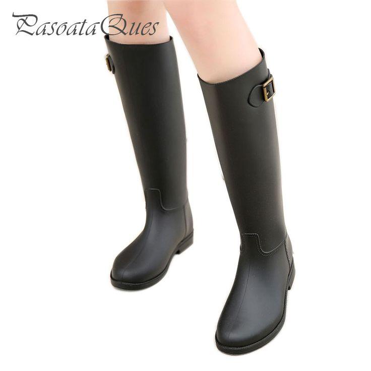 Women Rain Boots Rubber Shoes For Girls Ladies Waterproof Rubber Casual Walking Waterproof Shoes Water Rainboots 2016 New Winter #jewelry, #women, #men, #hats, #watches