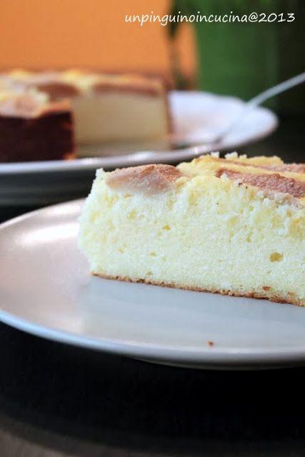 Un pinguino in cucina: Delizia di ricotta e semolino con le pere - Ricotta-Semolina Cake with Pears