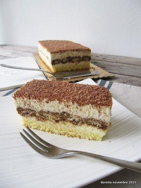 torta soffice al tiramisù