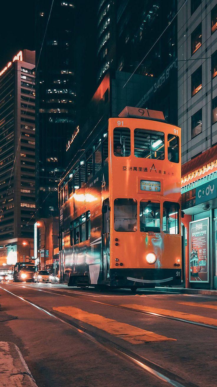 Phone Wallpaper Night View Night City City Phone