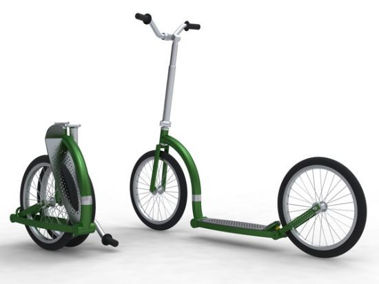 Geetobee folding scooter lets adults have some fun